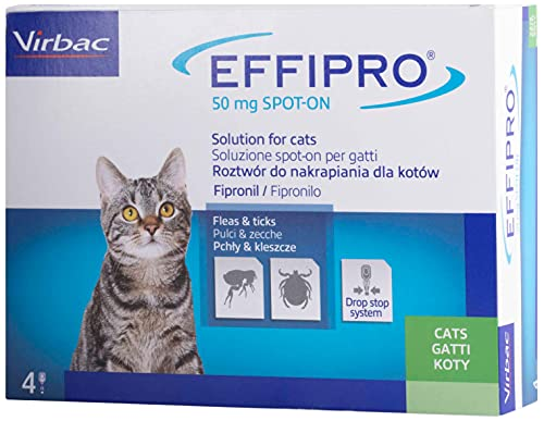 Virbac 104836022 Effipro'Duo Gatto 4Pip
