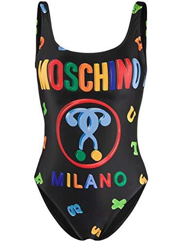 Luxury Fashion   Moschino Dames A420805971555 Zwart Elasthaan Badpakken   Lente-zomer 20