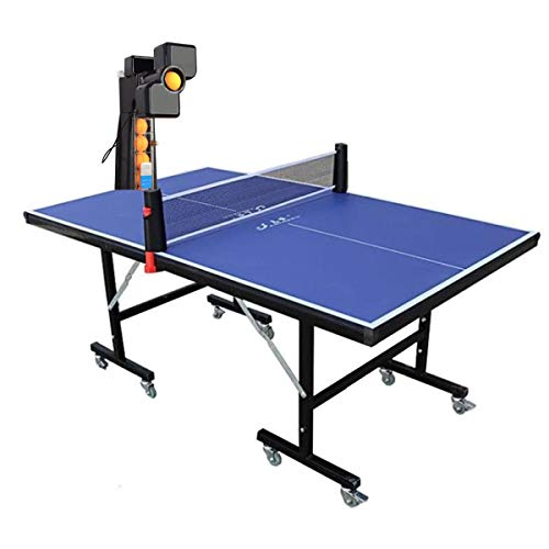 Best Prices! Kamiliya 2020 Table Tennis Robot Machine with Ping Pong Tables Set,36 Different Spin Ba...