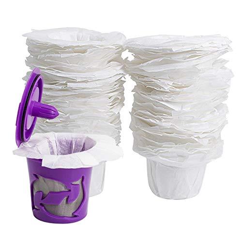 HPPL100Pcs Koffie Papieren Filters Bekers Vervanging Wegwerp K Cup Voor Keurig Koffie filterpapier wegwerp party servies