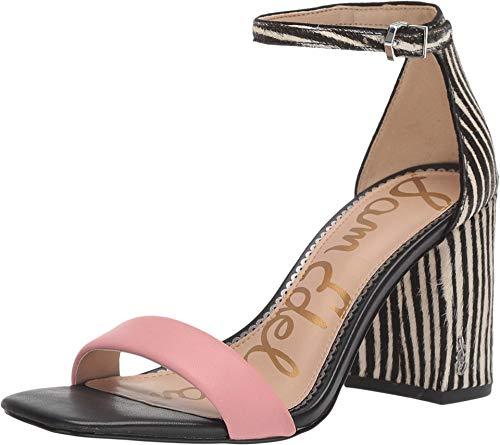 Sam Edelman Daniella Canyon Pink/Black/White Butter Nappa Leather/Baby Zebra Brahma H 8