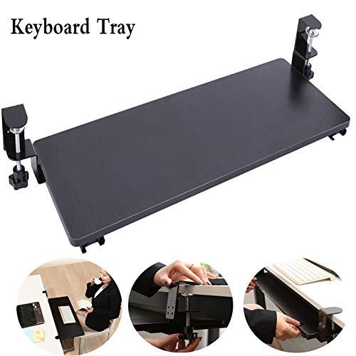 Cyg Tastaturablage, Tragbar Ausziehbare Tastaturablage Einstellbares Design Keyboard Tray für Schreibtisch Und Tisch Tastaturauszug Tastaturhalterung