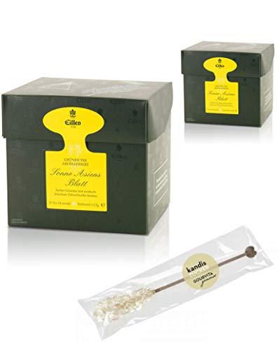EILLES Tea Diamonds Sonne Asiens Mega-Sparset mit 2 Boxen und gratis Kandisstick von Gourvita Moments