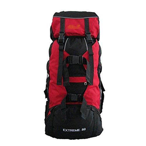Bleu emansmoer Unisex Nylon Imperm/éable Outdoor Sac /à dos Sport Camping Randonn/ée Trekking descalade Voyager Sac