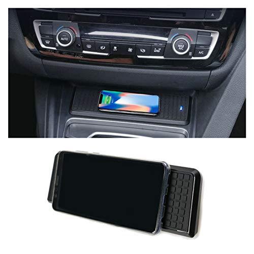 YLAN Store Ajuste para BMW 3 Series F30 F31 F82 F32 F34 F36 Coche Qi Qi Cargador inalámbrico Módulo de carga rápida Módulo de tapa para iPhone para iPhone ( Color Name : For 3 Series F30 F34 )