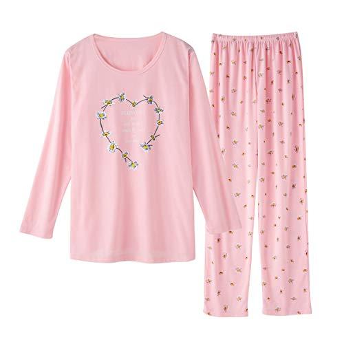 TOP-MAX Young Ladies Pajamas Set for Big...