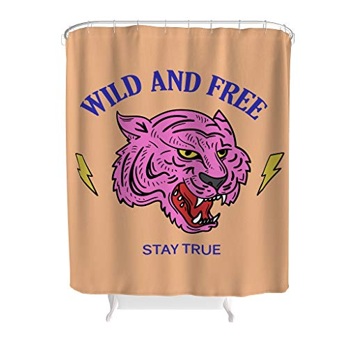 Luipaard tekst creatieve woonideeën fris gewaagd design met sluiting voor badkamer decoratie polyester dier