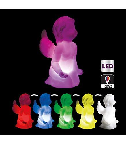 AC-Déco Ange Lumineux Couleurs changeantes à LED - Luminaire d'ambiance
