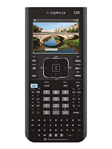 Texas Instruments TI-Nspire CX CAS Graphikrechner (+ TI-Nspire CX CAS Student Software) schwarz