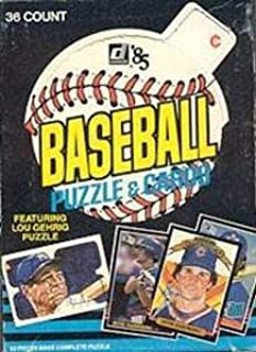 1985 donruss wax box