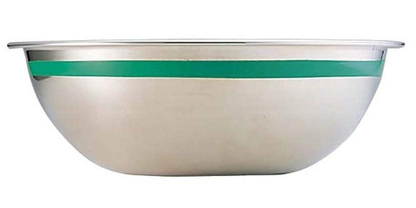 バッグ動揺させる投獄TKG 18-8 カラーラインボール 13cm グリーン [ 深さ:52mm 容量:0.57L ] [ 料理道具 ] | 飲食店 ホテル レストラン 和食 洋食 中華 キッチン 業務用
