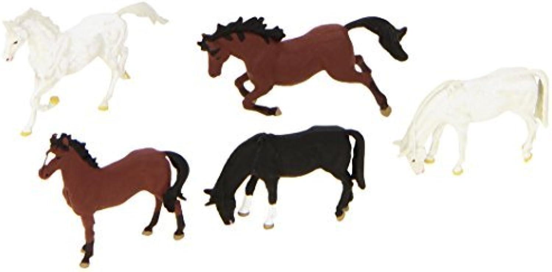 HORSES  PREISER HO SCALE MODEL TRAIN FIGURES 10156 by Preiser