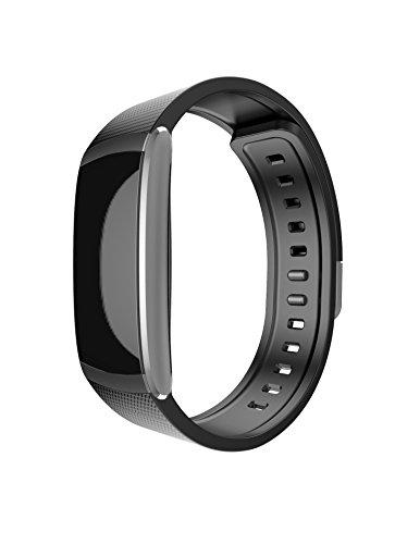 Iwownfit I6 PRO SmartBand Sport Sensor Fitness Tracker Schlafen Herzfrequenz Monitor Support Call und Nachrichten Benachrichtigungen für Android und ios Wasserdicht IP67 BT 4.0