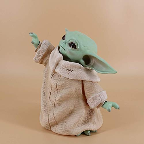 huyouwanG Baby Yoda Baby Yoda 5 statische Ornamente für das amerikanische Star WarsDrama Mandalorian Baby Yoda