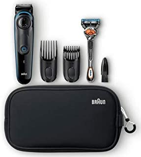 Braun Beard Trimmer BT3940TS - Ultimate Precision for 100% Control of Your Style