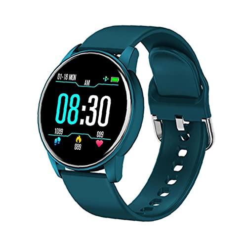 Tuimiyisou Inteligente Reloj Pulsera Reloj Elegante Reloj de Pulsera Inteligente ZL01 Rastreador Deportivos Rastreador de Ritmo cardíaco Reloj Azul de Hombres de Las Mujeres y
