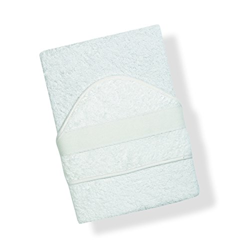 Toalla INTERBABY, Bañera bordado de punto de cruz, blanco (