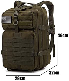 40L Large Military Tactical Backpack Best Pack for Bug Out Bag 3 Day Assault Hunting Hiking Rucksack