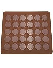Macarons Mold Duurzaam Siliconen Mal Mat 30 Gaten Macarons Bakplaat Non Stick Bakvormen Chocoladevorm Gebak Bakplaat