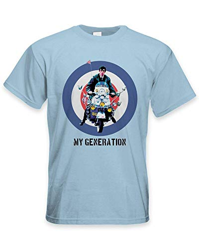 My Generation Mod Scooter Men's T-Shirt - Jam Fashion The Who Quadrophenia
