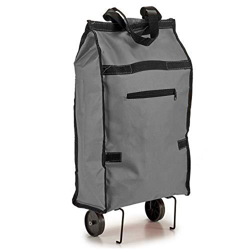 AR Bolsa Compra Plegable con Ruedas 53x31x14cm, Varios