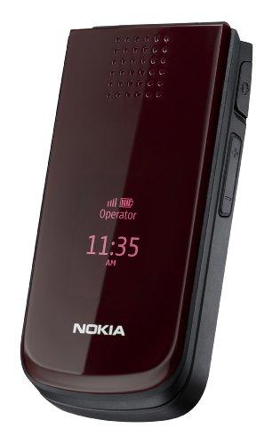 Nokia 2720 Fold Handy (1,3 Megapixel Kamera, FM-Radio, Bluetooth, Rot