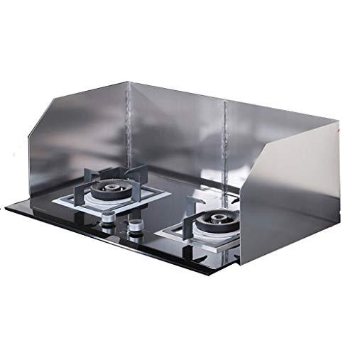 Protector anti-salpicaduras de cocina Lucha contra la salpicadura de la del protector de la cocina que cocina 304 de aislamiento de aceite a prueba de placa de acero inoxidable Detener las salpicadura