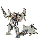 JINJIND Juguetes de Transformers, Dominio Lightning Airplane Transformación Robot Modelo Modelo Niños Regalo Favorito