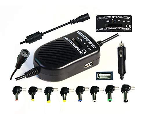 Auto DC cargador de coche de energía regulada para el ordenador portátil