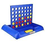 YLLN ABS 4 en una Fila Juego de Mesa Vertical Juego de Mesa Educativo para niños Juego de ajedrez Vertical en línea Juguete Interactivo para Padres e Hijos