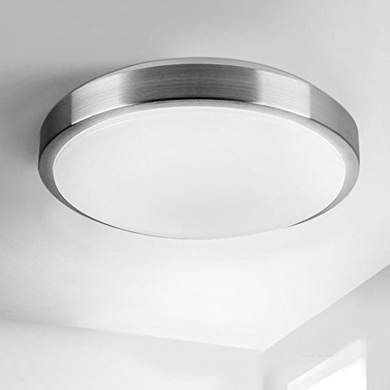 Unbekannt GJ- Runde LED-Deckenleuchte Moderne minimalistische Schlafzimmer Lampe Wohnzimmer Lampe Study Restaurant Balkon Beleuchtung Aluminium-Lampen (gre   34)