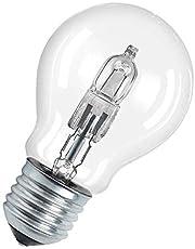 ECO standaard halogeenlamp 70 W E27 energiebesparend en dimbaar, helder glas