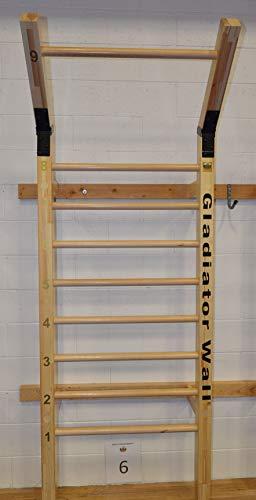 Suples Unisex– Erwachsene Gladiator Wall, Holz, One Size