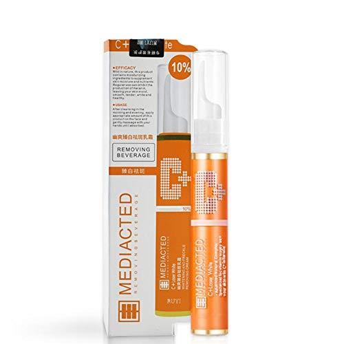Crème éclaircissante stylo tache crème éclaircissante pour la peau des taches d'âge du visage taches sombres dommages causés par le soleil éliminer éclaircissant hydratant Anti-âge