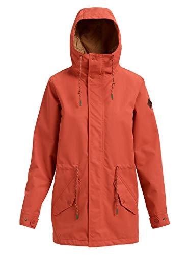 Burton Sadie Snowboard Jacket Hot Sauce Womens Sz S
