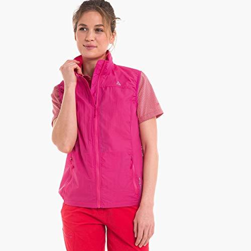 Schöffel Damen Windbreaker 1 Weste, Fandango pink, 44