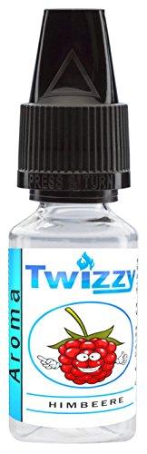 10ml Twizzy Himbeere Aroma   Aroma für Shakes, Backen, Cocktails, Eis   Aroma für Dampf Liquid und E-Shishas   Flav Drops   Ohne Nikotin 0,0mg