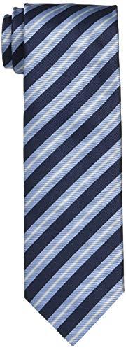 [ヒューゴ] ネクタイ レジメンタルストライプ ネクタイ ONE SIZE ブルー