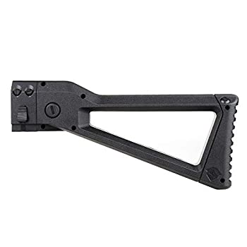 WORKER AK Style Shoulder Stock Compatible with for nerf N-Strike Elite and Nerf Modulus Series Toys Color  Black