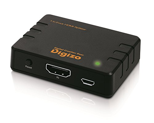 プリンストンデジ像4K60p/HDR対応HDMIスプリッターPHM-SP102S