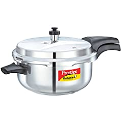 Cooks three to ten times faster than ordinary cooking methods! Saves times, energy, and money. Pressure cooking preserves flavors and nutrients, and even tenderizes lean cuts of meat. Pressure regulator maintains the proper cooking pressure automatic...