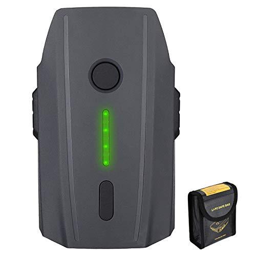 Lordone 11.4V 3830 mAh Intelligent Flight Battery Replacement for DJI Mavic Pro,DJI Mavic Pro Platinum,DJI Mavic Pro White with Battery Safe Bag
