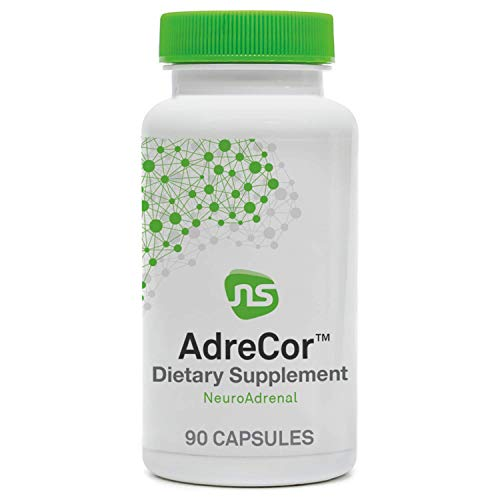 NeuroScience AdreCor - Rhodiola Rosea, Vitamin C, B6 + EGCG from Green Tea Supplement for Energy + Adrenal Health - Help Reduce Fatigue, Promote Mood, Improve Focus + Manage Stress (90 Capsules)