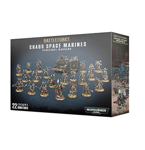 Games Workshop Warhammer 40,000 Chaos Space Marines Vengeance Warband