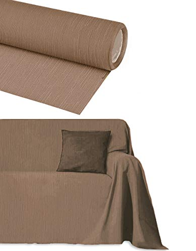Sofaüberwurf Baumwolle 2 3 4 5 Plätze ARTIGIANCE Granfoulard Salvadivano NO Stoff groß auf Maß Leinwand Arredo Foulard Universal Modern Vintage Jacquard Tagesdecke Sofa Penisola Made in Italy