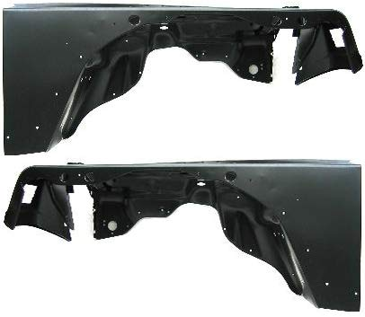 Front Fender Compatible with 1997-2006 Jeep Wrangler (TJ) Driver and Passenger Side