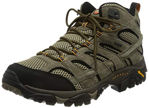 Merrell Men's Moab 2 Ltr Mid Gtx High Rise Hiking Boots, Brown Pecan, 10 UK