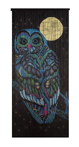Beaded Bamboo Curtain-The Night Owl