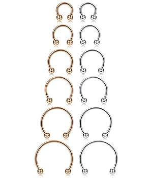 Best septum piercing horseshoe Reviews
