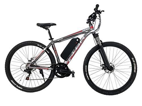 Bicicletta Elettrica MTB Uomo Donna, Bici Elettrica e-Bike, in Alluminio 48V Volt Litio Motore 250W-750W BAFANG 5 velocità, Freni a Disco